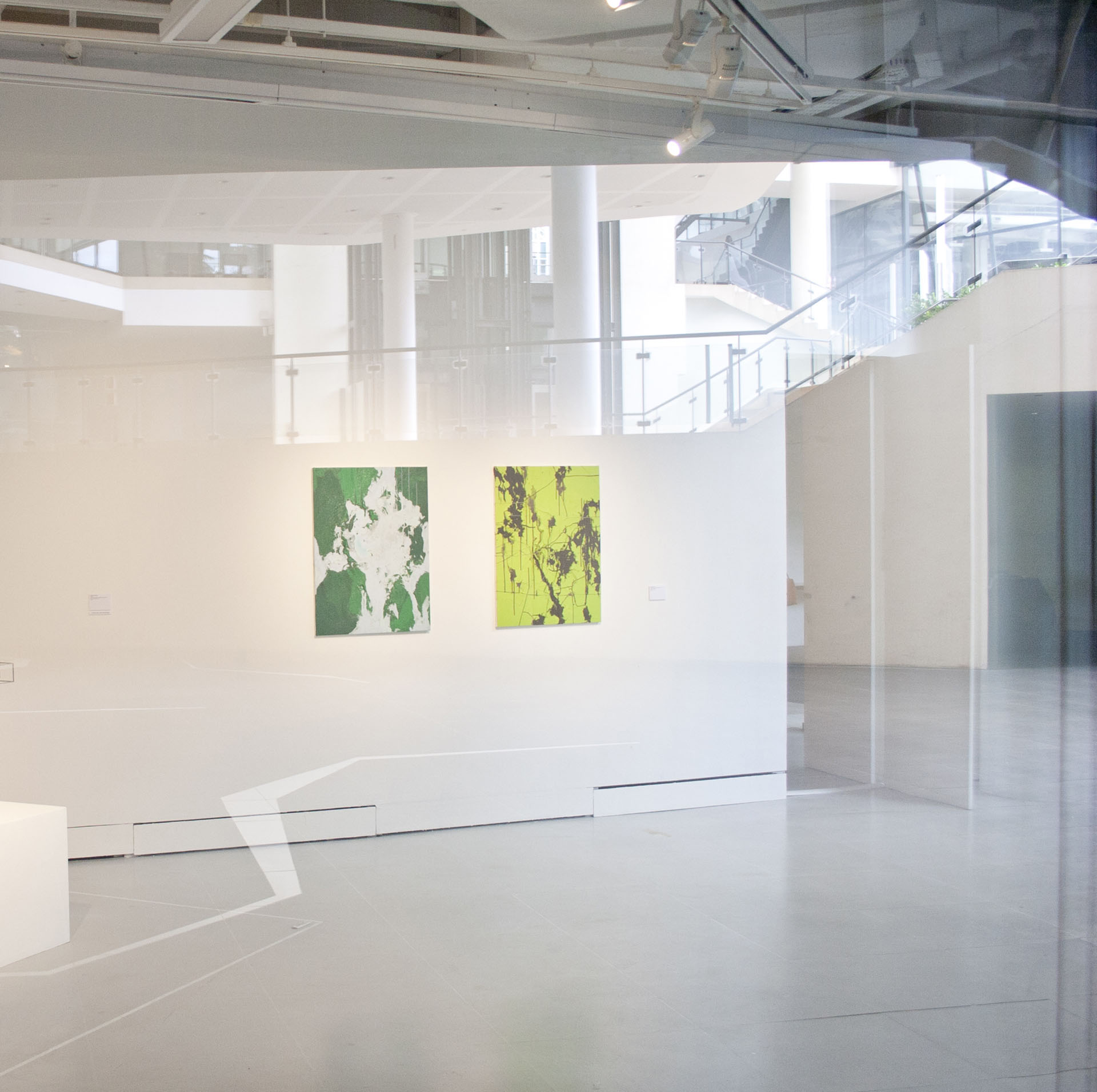 Photo of exhibition held at Institute of Contemporary Arts Singapore, Lasalle College of the Arts