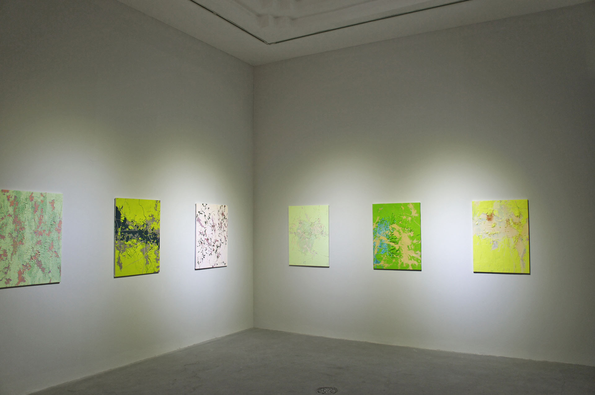 Photo of exhibition held at Pearllam Gallery in Shanghai